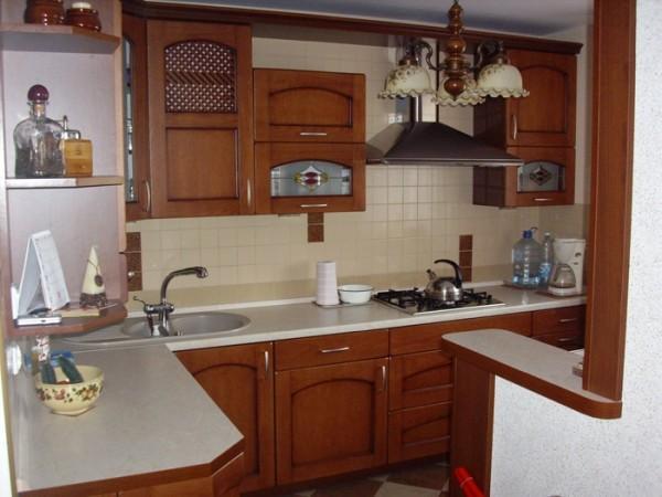 kuchnia w małym domu