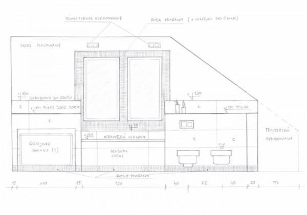 aranżacja projektu łazienki